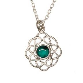 Celtic Birthstone Pendant May - Emerald 2004